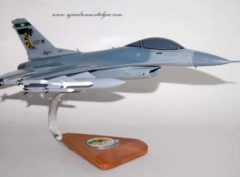 112th Fighter Squadron Stingers F-16 model