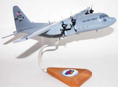 136th Airlift Squadron NYANG C-130 Model