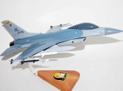 4th Figher Squadron Fighten' Fujins F-16 Model