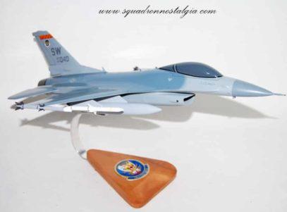 79th FS Tiger F-16 Model