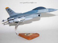 80th Fighter Squadron Headhunters F-16 Model