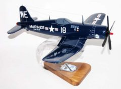 VMF-214 Blacksheep F-4U4 Model