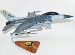 4th Fighter Squadron Fightin' Fuujins F-16 Model