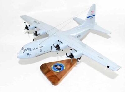 62d Airlift Squadron Blue Barons C-130 Model
