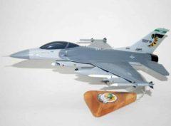 112th Fighter Squadron Stingers F-16 model