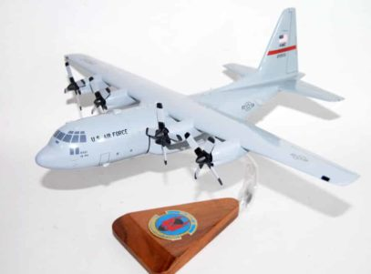 50th Airlift Squadron Red Devels C-130 Model