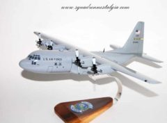 95th Airlift Squadron Flying Badgers C-130 Model