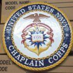 US Navy Chaplain Corps Plaque