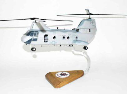 HMM-364 Purple Foxes CH-46 Model