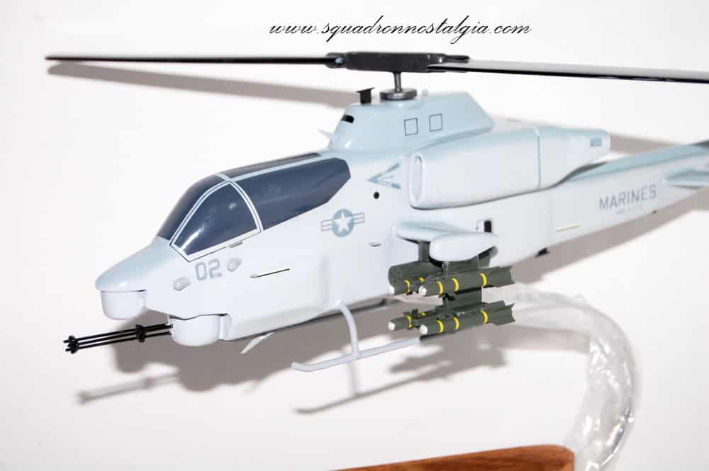 HMLA-773 Red Dogs AH-1W Model