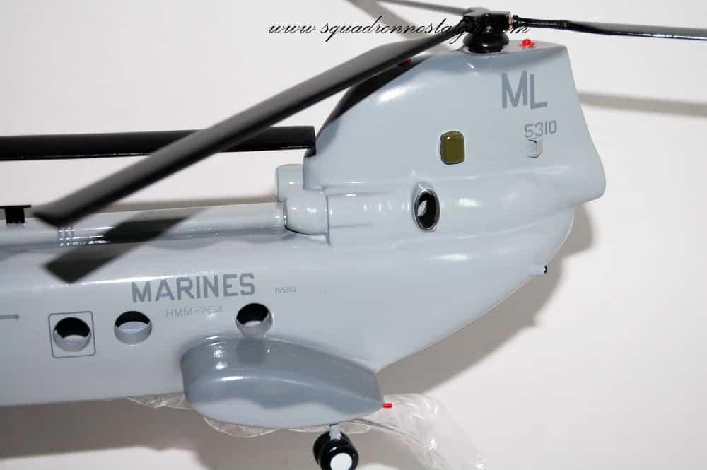 HMM-764 Moonlight CH-46 model