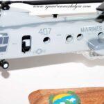 HMM-764 Moonlight CH-46 model