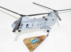 HMM-764 Moonlighters CH-46 Model
