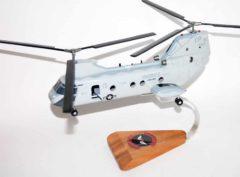 HMM-163 Evil Eyes CH-46 Model