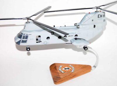 HMM-264 Black Knights (01) CH-46 Model