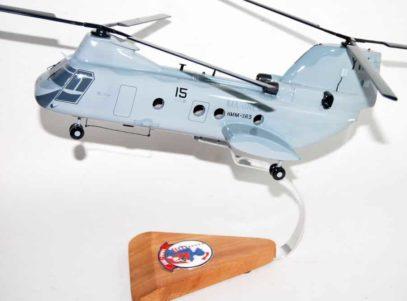 HMM-365 Blue Knights CH-46 Model