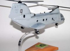 HMM-164 Knightriders CH-46 Model