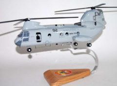 HMM-261 Raging Bulls CH-46 model
