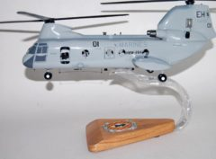 HMM-264 Black Knight CH-46 Model