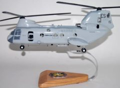 HMM-266 Fighting Griffins CH-46 Model