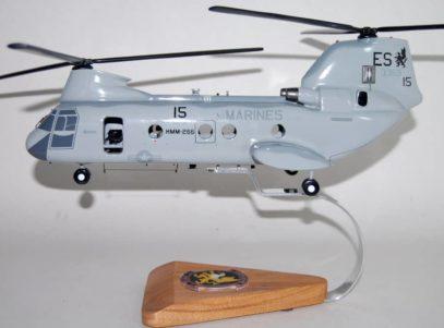 HMM-266 Fighting Griffins CH-46 Model