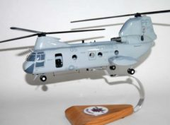 HMM-364 Purple Foxes CH-46 Model