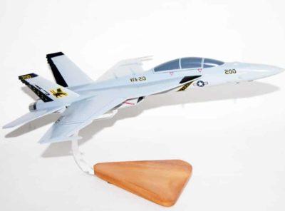 VFA-213 Fighting BlackLions F/A-18F Super Hornet Model