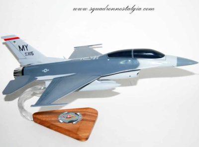 68 FS Lightning Lancers F-16D Model