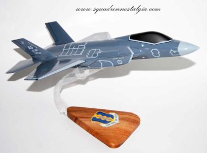 33rd Fighter Wing/ 58th Fighter Squadron F-35 Model