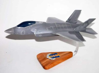 33rd Fighter Wing F-35 Model