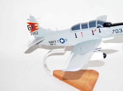 VAW-12 Bats EA-1F Model