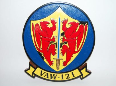 VAW-121 Bluetails Plaque