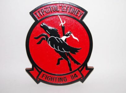 VF-114 Aardvarks Plaque