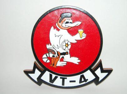 VT-4 Warbucks Plaque