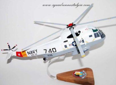 HS-12 Golden Falcons SH-3 Model