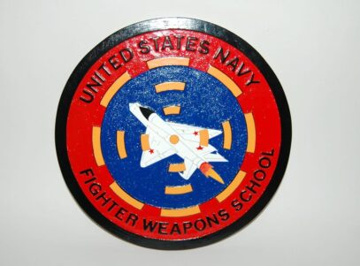 Top Gun Plaque