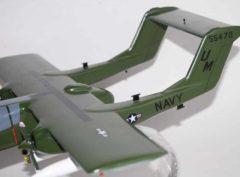 VAL-4 Black Ponies OV-10 Bronco Model