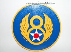 8th Air Force Plaque
