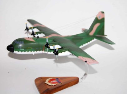 317th TAW (Pope) C-130E Jungle Model