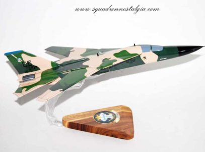 27th Tactical Fighter Wing F-111 Model