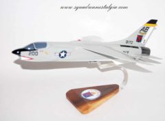 VF-11 Red Rippers F-8 Crusader Model