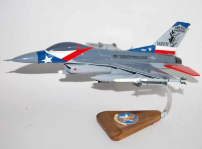 182nd Fighter Squadron F-16 Model