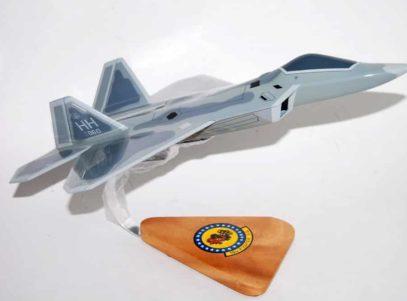 19th FS Gamecocks F-22 Raptor Model