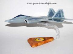 27th Fighter Squadron F-22 Model