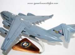 6th Airlift Squadron C-17a Model