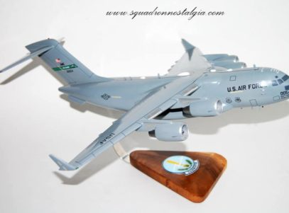 7th Airlift Squadron C-17 Model