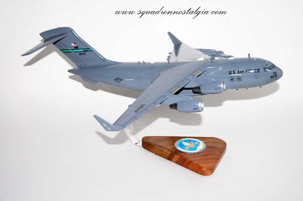 8th Airlift Squadron C-17a Model