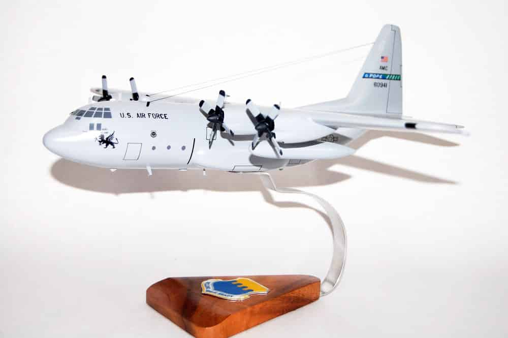 43rd Airlift Wing C-130 Model