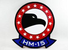 HM-15 Blackhawks Plaque