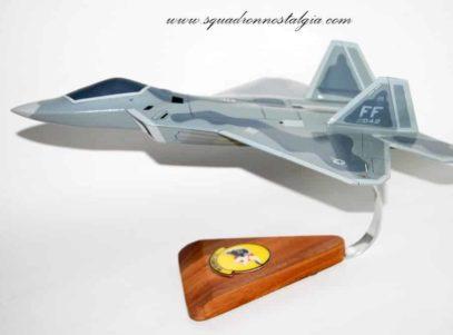 27th FS Fighting Eagles F-22 Raptor Model